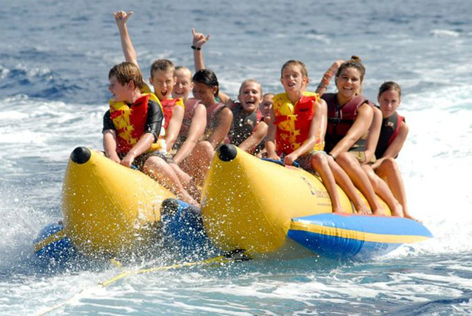banana boat rides in destin, florida