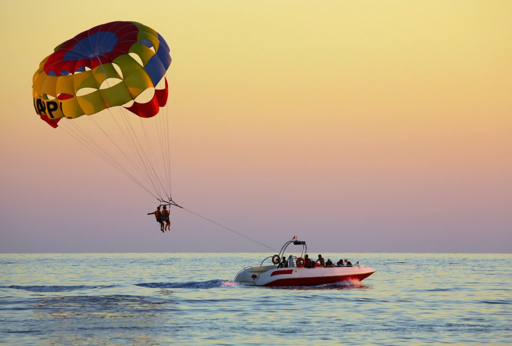 orange beach parasailing