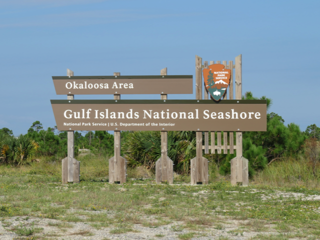 Take your pontoon to Gulf Islands National Seashore