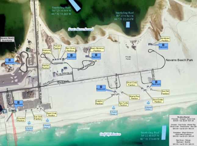 Turtle Reef Locations
