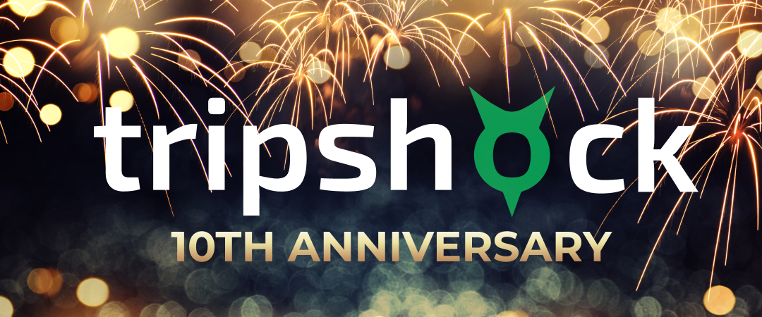 TripShock Celebrates 10 Years of Growth and Excellence!