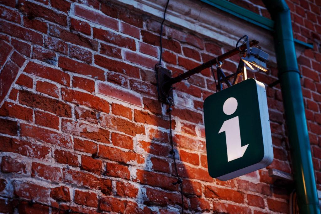 information-sign-light-cube-ancient-building-touristic-sign-symbol