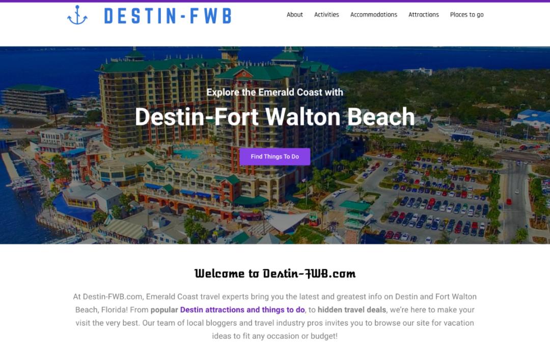 TripShock Launches Destin-FWB.com